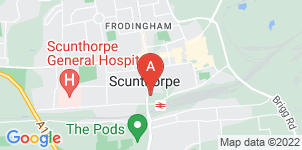 Google static map for Scunthorpe Funeral Care