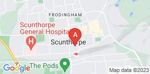 Google static map for J Naylor Funeral Directors Ltd, Scunthorpe