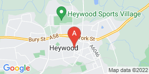 Google static map for Gibson House Funeral Home Ltd, Heywood