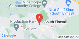 Google static map for A N Abraham Funeral Directors, South Elmsall