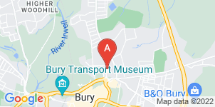 Google static map for Fred Hamer Funeral Services, Bury