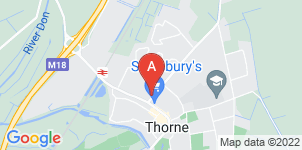 Google static map for Armitage Funeral Directors