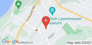 Google static map for F J Gibb Funeral Directors