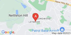 Google static map for Golcar Independent Funeral Directors Ltd