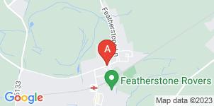 Google static map for Granville Brooks Funeral Directors