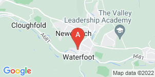Google static map for Agape Funeral Service