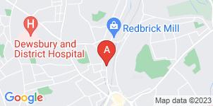 Google static map for Eric F. Box Funeral Directors, Dewsbury