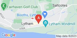 Google static map for Lytham Funeral Service Ltd