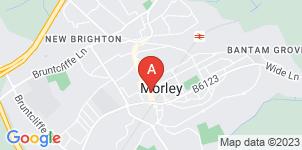 Google static map for Bennett of Morley Funeral Directors