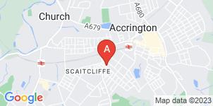 Google static map for Wolstenholme Funeral Directors