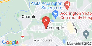 Google static map for Kirby & Hughes Funeral Directors