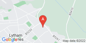 Google static map for Fylde Coast Funeral Service