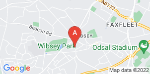 Google static map for Arthur Holdsworth Funeral Services Ltd