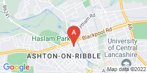 Google static map for Martin's Funeral Directors, Ashton