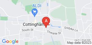 Google static map for A Shepherd & sons Funeral Directors, Cottingham