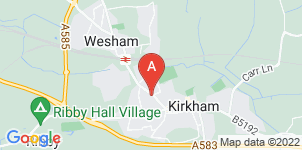 Google static map for M Billington Funeral Directors