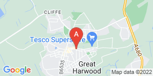 Google static map for Great Harwood Funeral Services