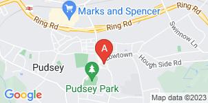 Google static map for Mahony & Ward Funeral Directors