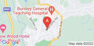 Google static map for Fred Hamer Funeral Services, Burnley Briercliffe Rd