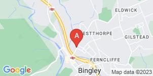 Google static map for Albert Pratt Funeral Directors, Bingley