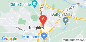Google static map for Melia Powell & Family Funeral Directors, Keighley