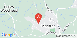 Google static map for J Waite & Son Funeral Directors