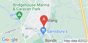 Google static map for Ascension Funeral Service