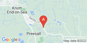 Google static map for Moon's Funeral Services