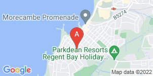 Google static map for Morecambe & Heysham Funeral Directors