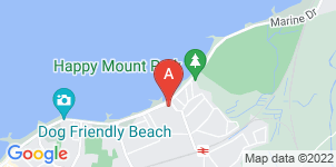 Google static map for The Co-operative Funeralcare, Morecambe