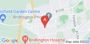 Google static map for The Co-operative Funeralcare, Bridlington