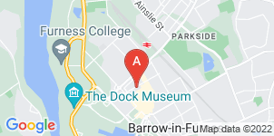 Google static map for Burns Funeral Service