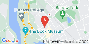 Google static map for George Hall & Son Funeral Directors