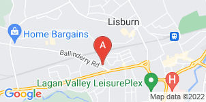 Google static map for Ronnie Thompson Funeral Directors
