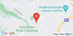 Google static map for O'Neills Funeral Directors