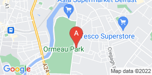 Google static map for Ravenhill Funeral Directors