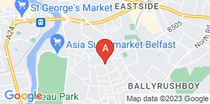 Google static map for Wilton Funeral Directors, Belfast