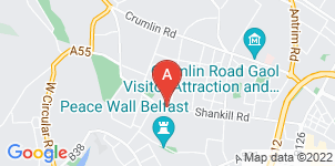 Google static map for Shankill Funeral Directors