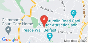 Google static map for Sandy Close Funeral Services, Shankill Road, Belfast