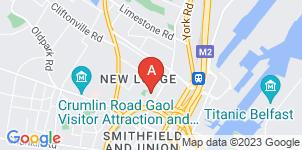Google static map for P.J Brown's Funeral Directors