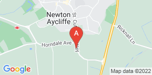 Google static map for Whitehouse Funeral Service Ltd, Newton Aycliffe