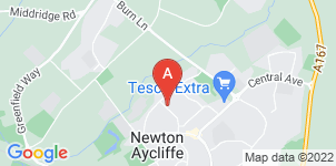 Google static map for The Co-operative Funeralcare, Newton Aycliffe