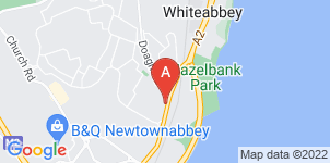 Google static map for Wilton Funeral Services, Newtonabbey
