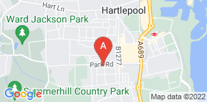 Google static map for Mason's Funeral Directors