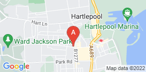 Google static map for Victoria House Funeral Service