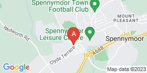 Google static map for Gordon Fletcher & Sons, Spennymoor
