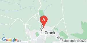 Google static map for The Co-operative Funeralcare, Crook