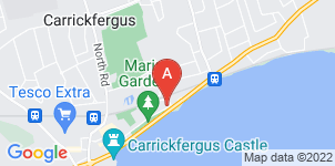 Google static map for McConnell's Funeral Directors