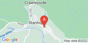 Google static map for The Co-operative Funeralcare, Stanhope