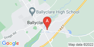 Google static map for Bairds Funeral Service